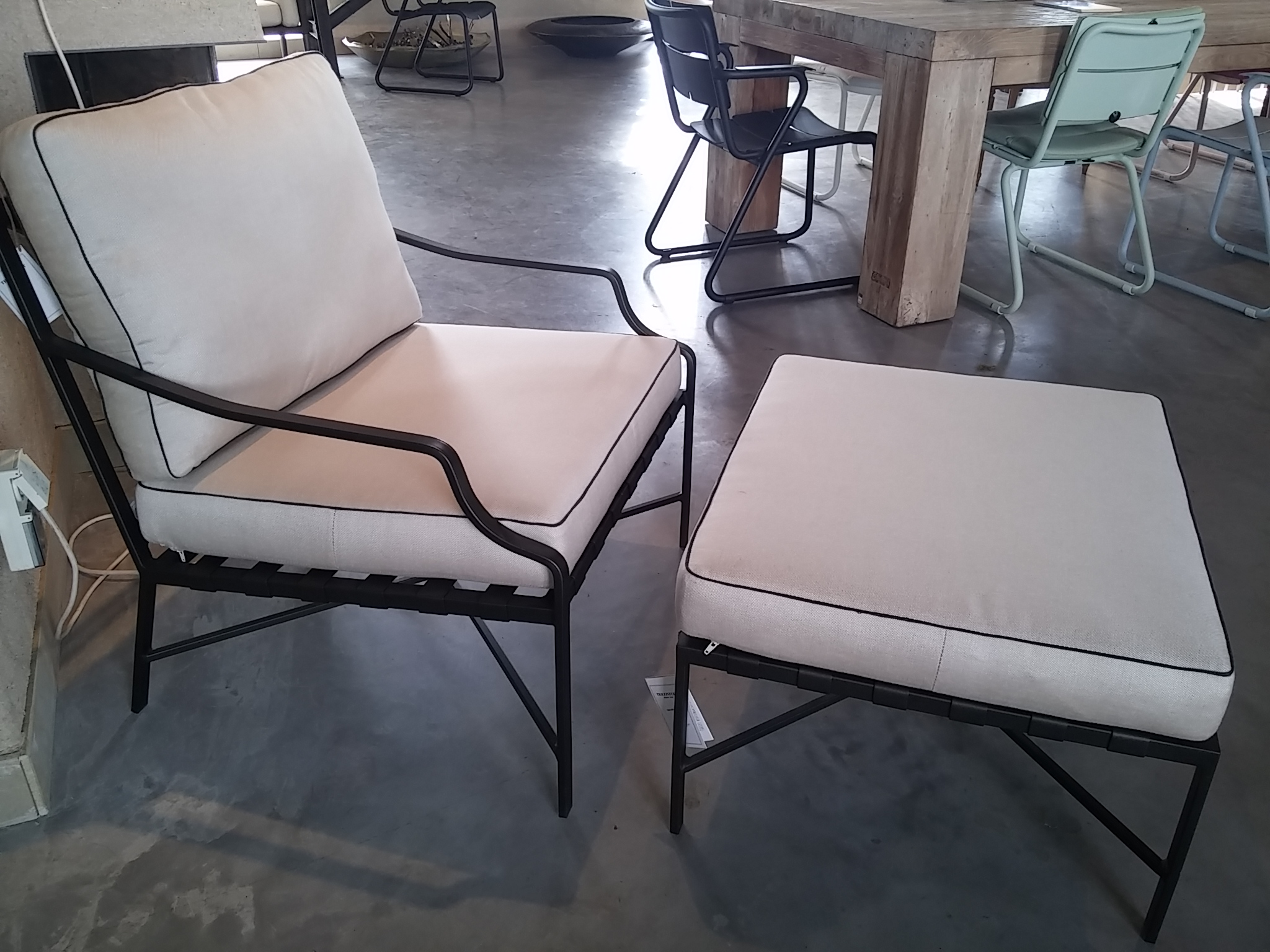 Gloster roma fauteuil ✓ van valderen exclusieve tuinmeubelen