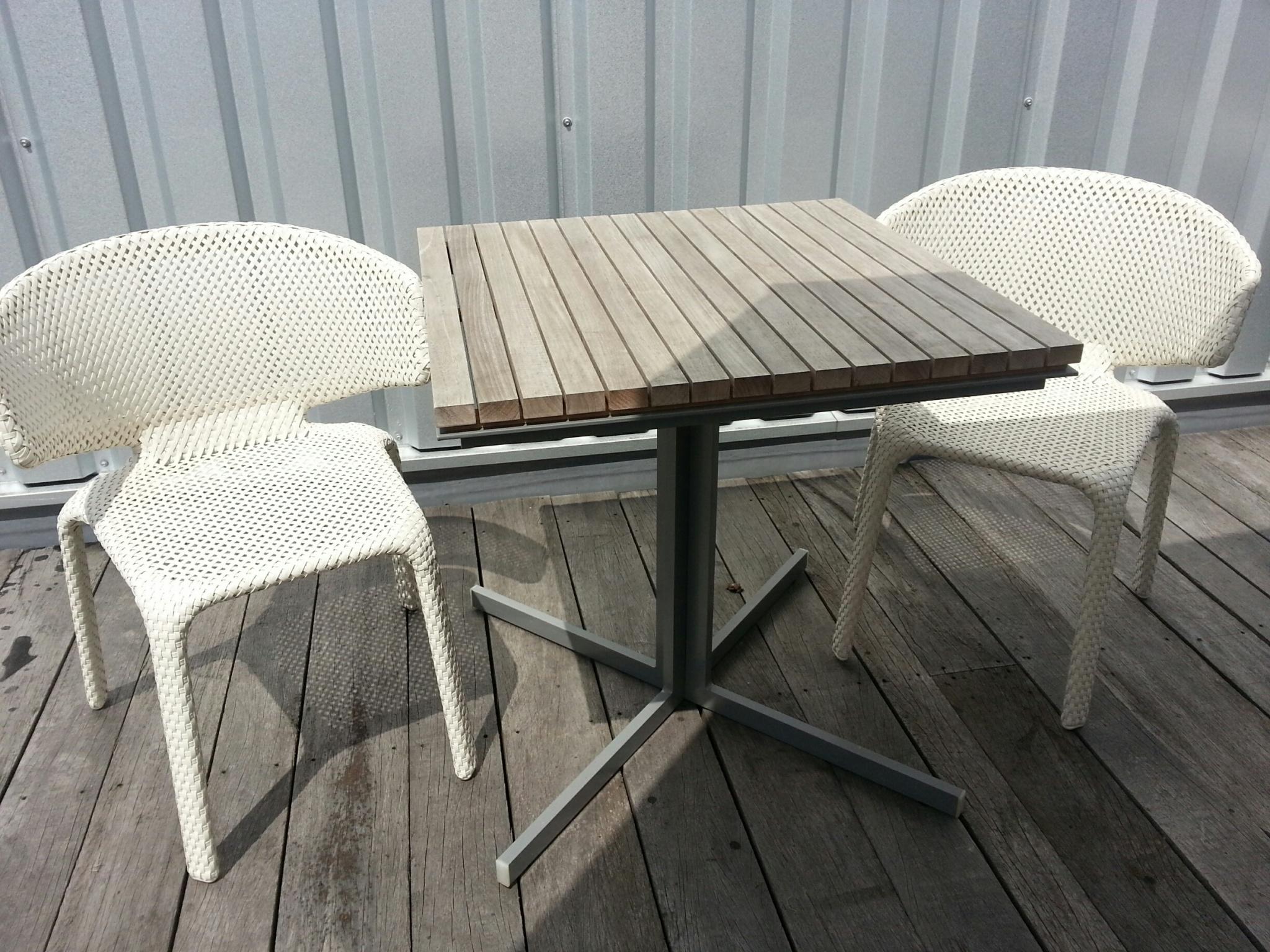Dedon seashell stoelen set ✓ van valderen exclusieve