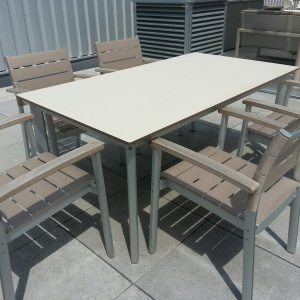 Garpa Montery tafel + stoel