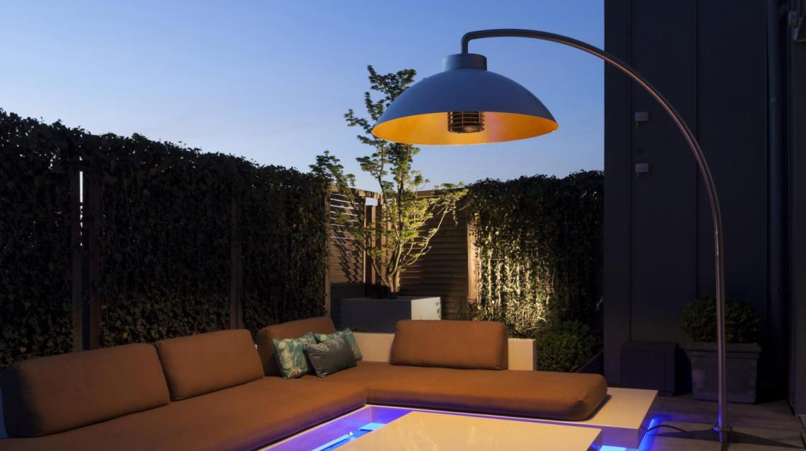 Banner dome heatsail ✓ van valderen exclusieve tuinmeubelen