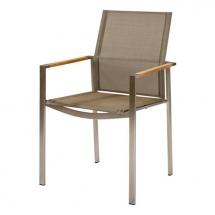 Barlow Tyrie Mercury dining armchair