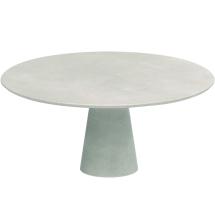 Conix tafel 160cm ø beton look