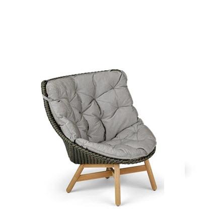 Dedon MBrace fauteuil arabica -teak