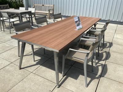 Dedon Play tafel 270 met stoelen uitverkoop (2)