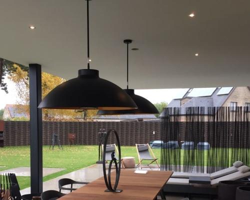 Heatsail Dome hangend terrasverwarming