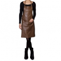 Dutch deluxes apron classic style brown