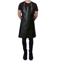 Dutch deluxes leather apron BBQ style