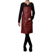 Dutch deluxes leather apron croco style