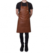 Dutch deluxes leather apron perfo style