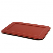 Dutch deluxes serving tray red rectangular