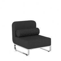 Fold Lounge middle Seater Module