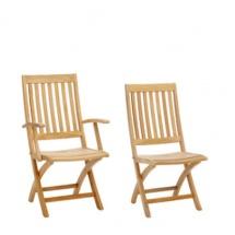 Garpa Teak verstelbare stoel teak
