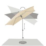 Glatz Alu smart parasol