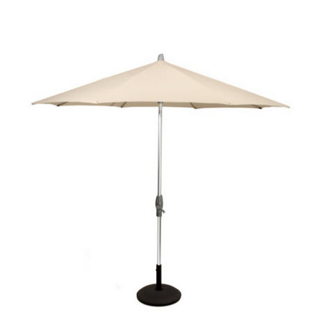 Glatz Alu-Twist parasol Ø330 – Off White 453