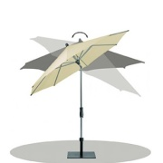 Glatz Alu twist parasol 250×200 –