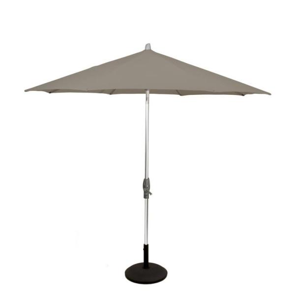 Glatz Alu twist parasol 250x200 - taupe 461