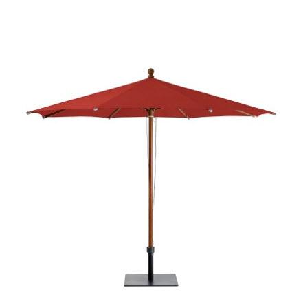 Glatz Piazinno parasol 300×300 Terra cotta 403