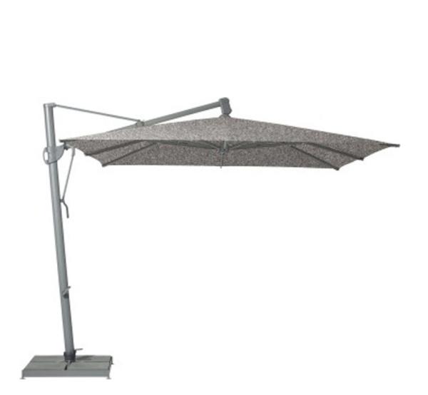 Glatz Sombrano S+ parasol 400×300 cm – Grijs 420