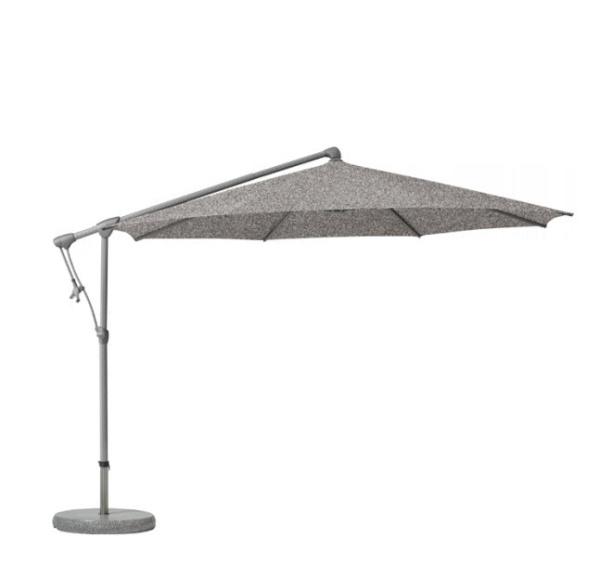 Glatz Sunwing C+ parasol 300 cm – Smoke 420