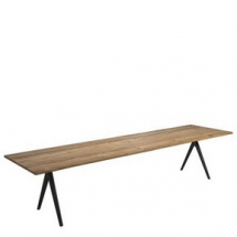 Gloster Raw tafel teak top