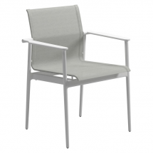 Gloster dining 180 chair white-seagull