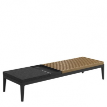 Gloster grid coffe table
