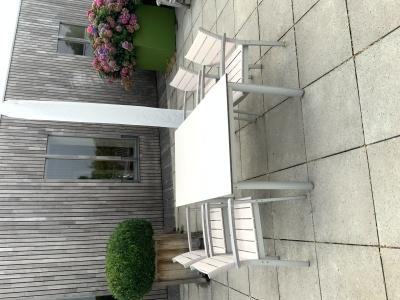 Garpa Montery tafel met stoelen stapelbaar