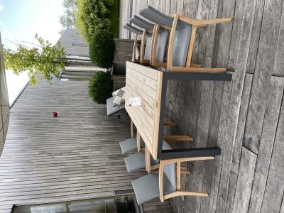 Suns Vario tafel met Verona stoelen