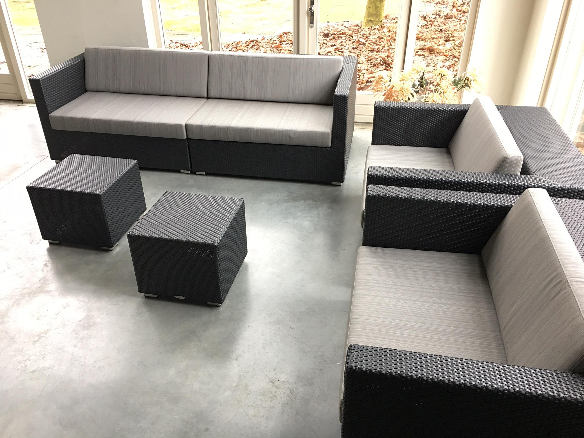 Dedon lounge gebruikt ✓ van valderen exclusieve tuinmeubelen