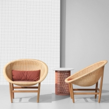Kettal Basket Outdoor Basket armchair