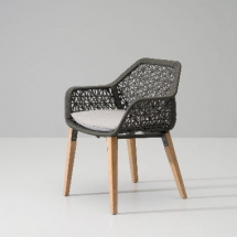 Kettal Maia Dining armchair Maia Rope
