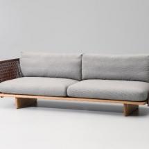 Kettal Mesh 3-Seater sofá