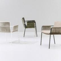 Kettal Net Dining armchair