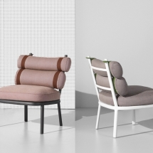Kettal Roll Club chair