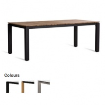 MACHAR DINING TABLE 200x100cm TEAK TOP