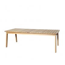 Oasiq Skagen tafel 234x100cm teak