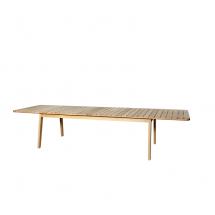 Oasiq Skagen uitschuifbare tafel teak