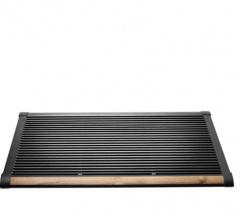 The New Standard Deurmat 120x70 Antraciet-teak