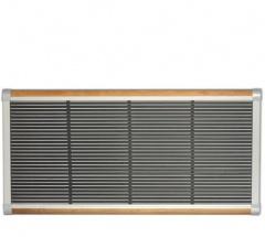 The New Standard Deurmat 175x70 Zilver-teak