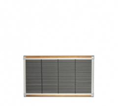 The New Standard Deurmat 90x60 Zilver-teak