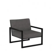 Royal Botania Ninix Lounge fauteuil zwart