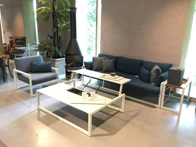 Royal Botania Ninix lounge wit uitverkoop (1)