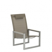 Royal Botania Ninix recliner – Pearl grey