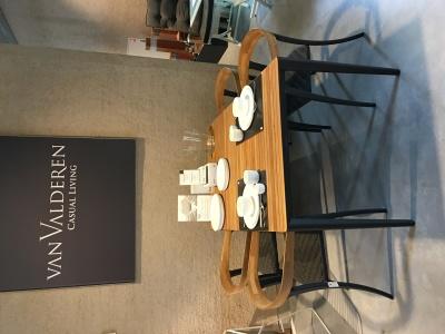 Royal Botania Unite tafel 150cm met Jive stoelen uitverkoop (3)