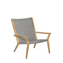Royal Botania Vita Relaxstoel - teak, woven fiber