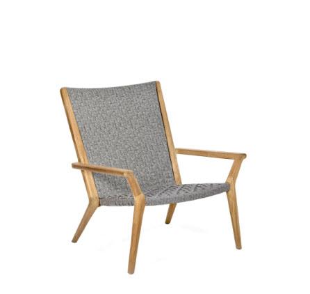 Royal Botania Vita Relaxstoel – teak, woven fiber