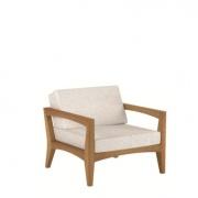 Royal Botania Zenhit fauteuil teak-wit