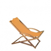 Royal Botania beacher teak – oranje