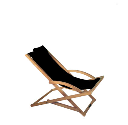 Royal Botania beacher teak - zwart