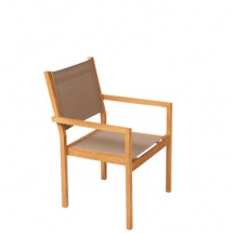 Kate stacking chair